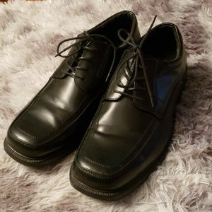 Dexter comfort black leather dress shoe